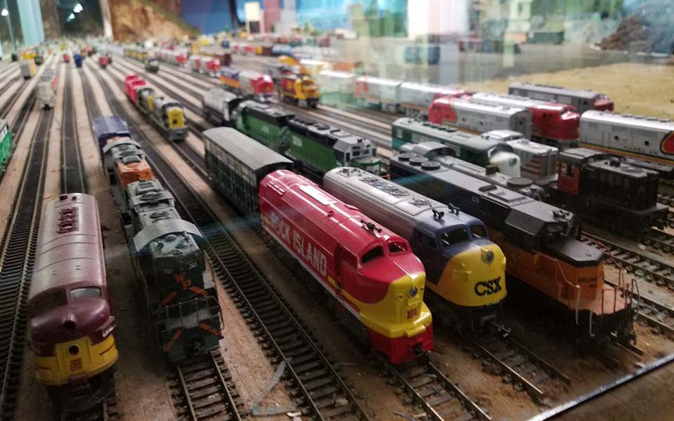 Haunted Doll Museum With Model Trains