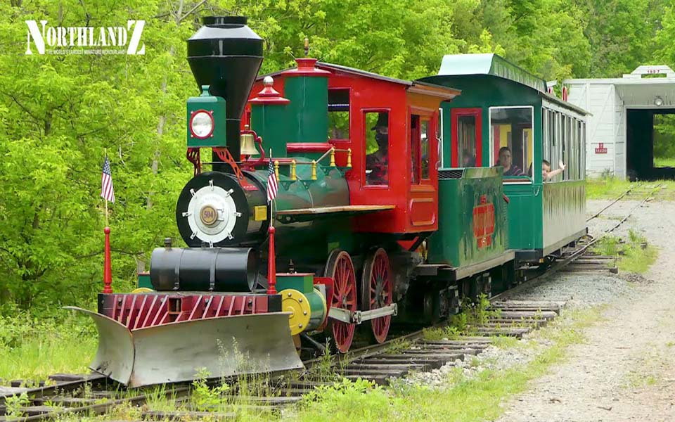 Haunted Doll Museum with Outdoor Trains